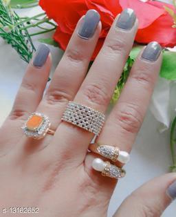Elite Glittering Rings
