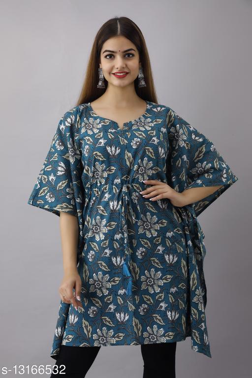 Women's Cotton Jaipuri Print Top