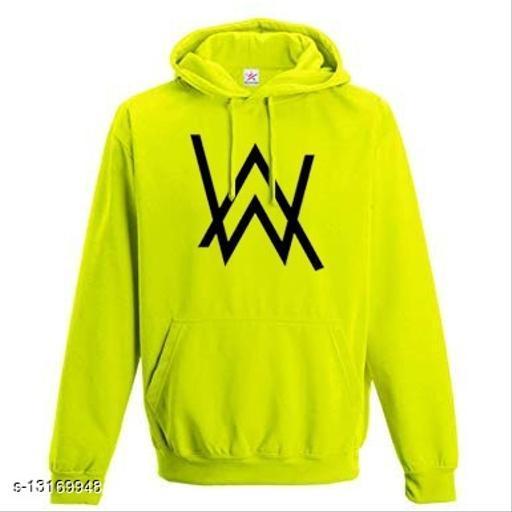 AW Printed Hooded Neck Sweatshirt for Women