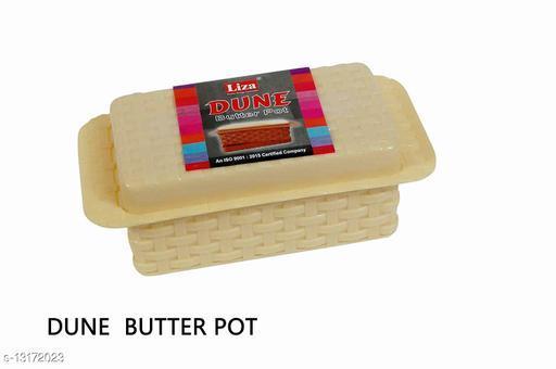 Set of 1 Pieces New Plastic Dune Butter Pot 500gm