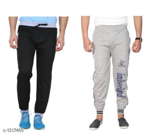 Trendy Casual Hosiery Track Pants ( Pack Of 2)