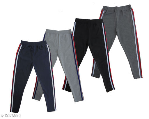 Stylish ankle length yoga pant for girls Pack of 4