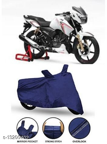 Chiefride TVS Apache RTR 180 Body Cover (Blue Polyester)