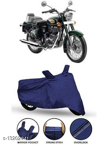 Chiefride Royal Enfield Bullet 500 Body Cover (Blue Polyester)
