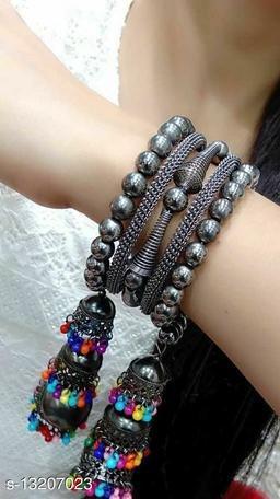 Fashionable Black bangle for Beautiful Girls & Women