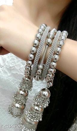Fashionable Silver Bangle for beuatiful girls & Women