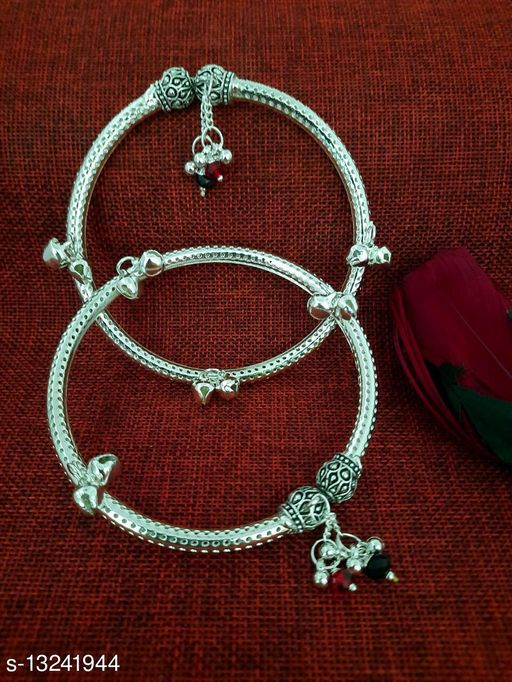 Ethnic Antique Kundan Studded Alloy 1 pair of Anklet