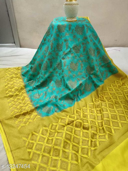 Trendy Dupion Silk Saree