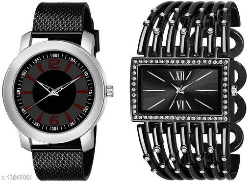 K510 & L624 exclusive Combo Of Two Watches For Men & Women