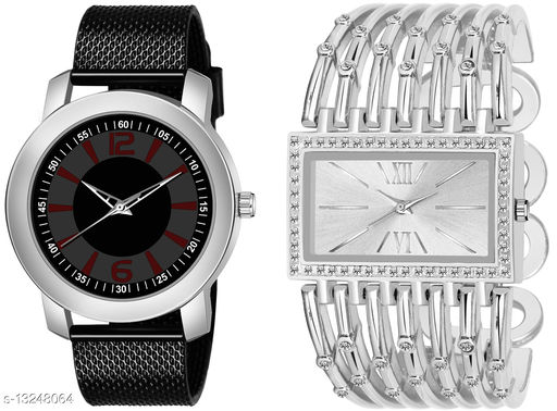 K510 & L627 exclusive Combo Of Two Watches For Men & Women