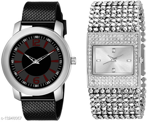 K510 & L618 exclusive Combo Of Two Watches For Men & Women
