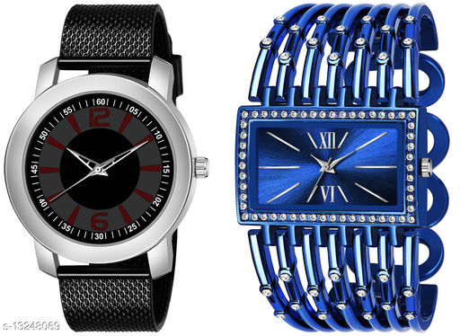K510 & L625 exclusive Combo Of Two Watches For Men & Women