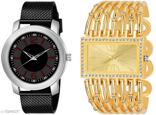 K510 & L629 exclusive Combo Of Two Watches For Men & Women