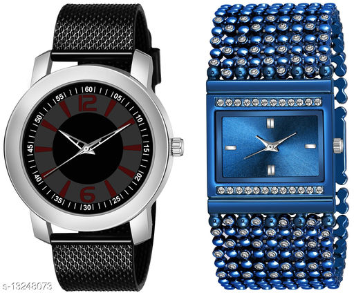 K510 & L614 exclusive Combo Of Two Watches For Men & Women