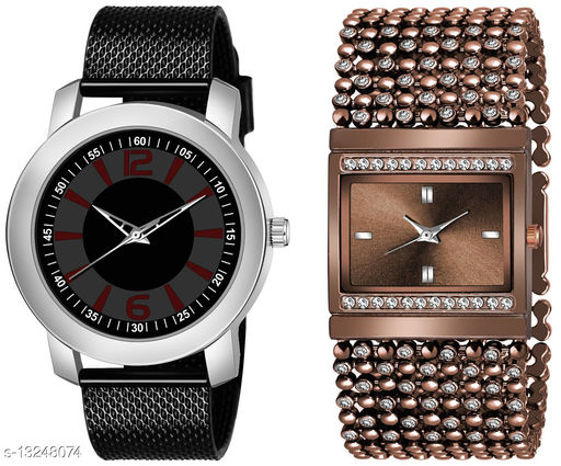 K510 & L616 exclusive Combo Of Two Watches For Men & Women