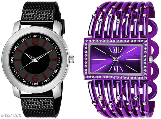 K510 & L628 exclusive Combo Of Two Watches For Men & Women