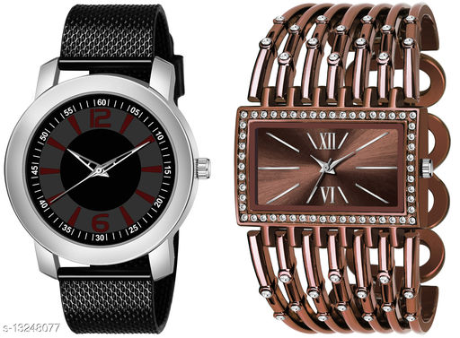 K510 & L626 exclusive Combo Of Two Watches For Men & Women