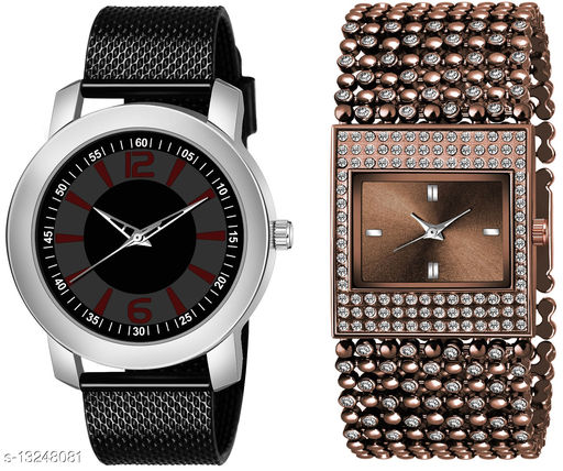 K510 & L612 exclusive Combo Of Two Watches For Men & Women