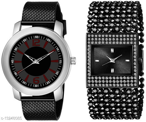 K510 & L613 exclusive Combo Of Two Watches For Men & Women