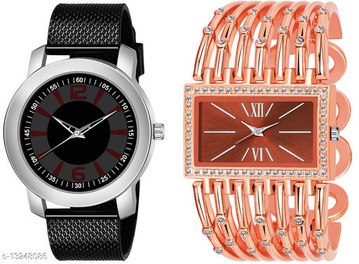 K510 & L630 exclusive Combo Of Two Watches For Men & Women