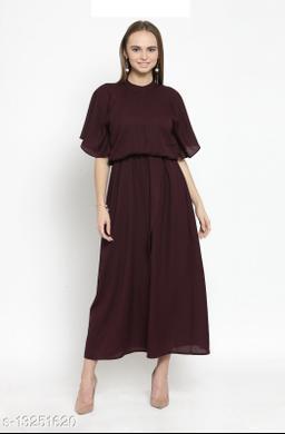 Formal Blouson Maxi Dress
