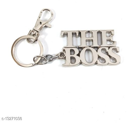 The.Boss Stylish Metal Antique Single Key Ring Hook/Latest Fashion Keychain Holder for Bikes,Car and Gift Key Chain