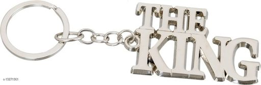 The.King Stylish Metal Antique Single Key Ring Hook/Latest Fashion Keychain Holder for Bikes,Car and Gift Key Chain