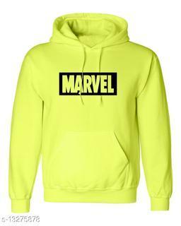 MARVEL Printed Hooded Neck Sweatshirt for Men