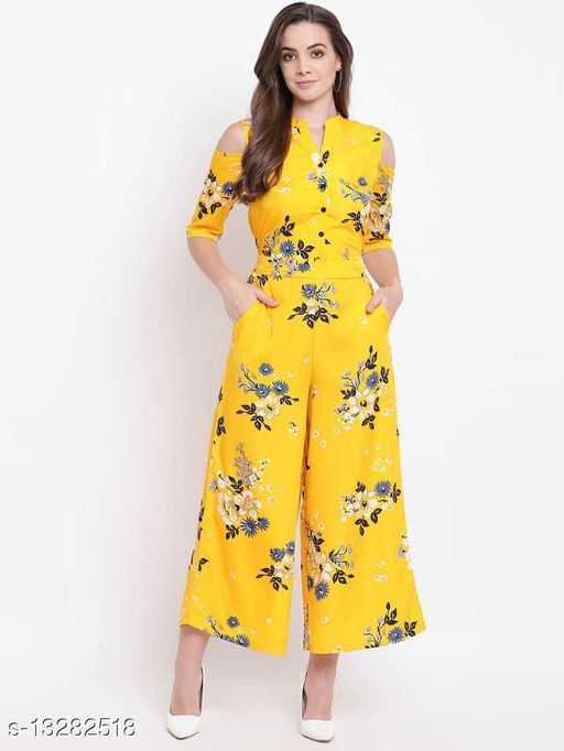 Rizwan Collection crepe jumpsuit