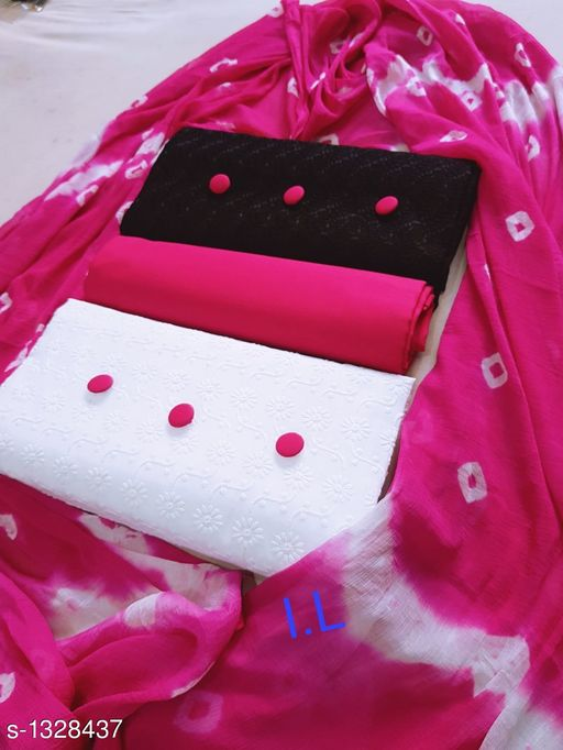 Stunning Cotton Suits & Dress Material