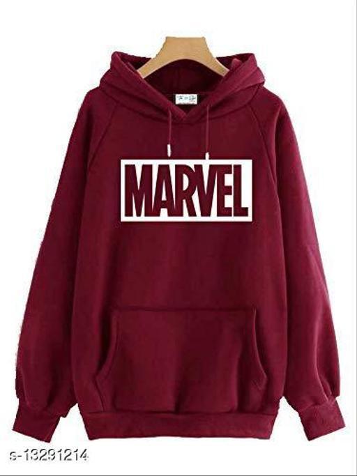 MARVEL Sweatshirt/Hoddie Maroon