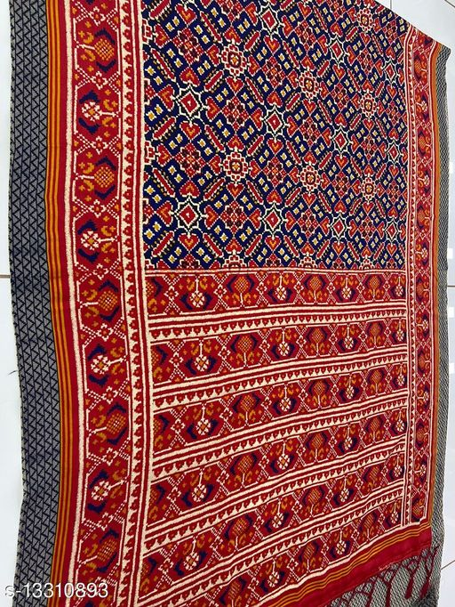 Multi Color Pashmina with Shawl Saree for Women