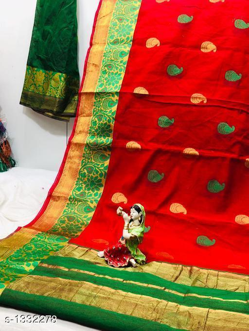 Sarees Dainty Patola Silk Saree  *Fabric* Saree - Patola Silk, Blouse - Patola Silk  *Size* Saree Length With Running Blouse 6.25 Mtr  *Work* Jacquard Zari  *Sizes Available* Free Size *   Catalog Rating: ★3.7 (23)  Catalog Name: Aagam Zari Woven Patola Silk Sarees CatalogID_170965 C74-SC1004 Code: 197-1332278-