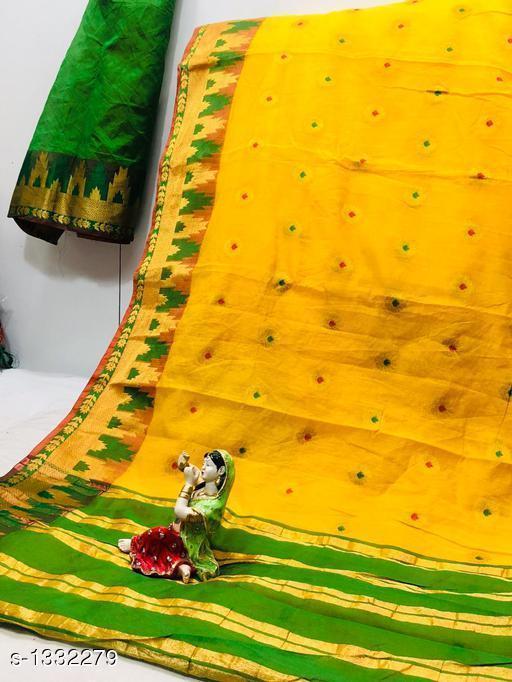 Sarees Dainty Patola Silk Saree  *Fabric* Saree - Patola Silk, Blouse - Patola Silk  *Size* Saree Length With Running Blouse 6.25 Mtr  *Work* Jacquard Zari  *Sizes Available* Free Size *   Catalog Rating: ★3.7 (23)  Catalog Name: Aagam Zari Woven Patola Silk Sarees CatalogID_170965 C74-SC1004 Code: 426-1332279-