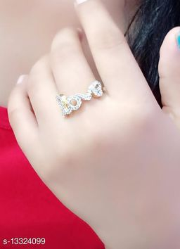 FREE SIZE BEAUTIFUL RING