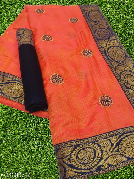 Beautiful Bahubali Silk Embroideried Saree