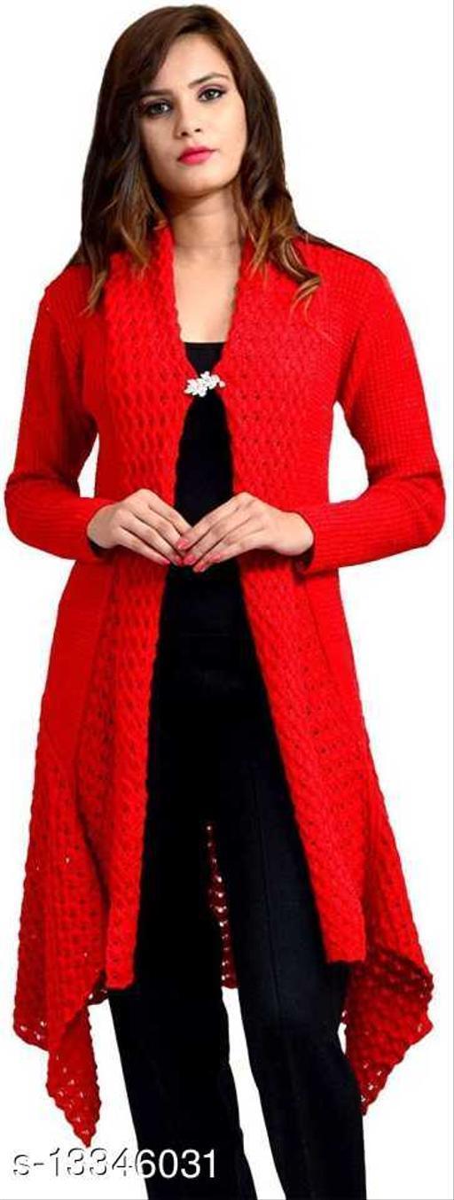 Vriaane Stylish Woolen Shrug