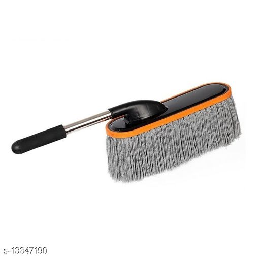 Cleaning brushes KitchenFest® Car Cleaning Accessories | Cotton Strands Made| Brush | Mop Duster Dry/Wet Home, Kitchen, Office Cleaning Brush with Expandable Handle Material: Plastic Pack: Pack of 1 Sizes Available: Free Size *Proof of Safe Delivery! Click to know on Safety Standards of Delivery Partners- https://ltl.sh/y_nZrAV3   Catalog Name: Modern Cleaning Brushes CatalogID_2616345 C89-SC1749 Code: 543-13347190-