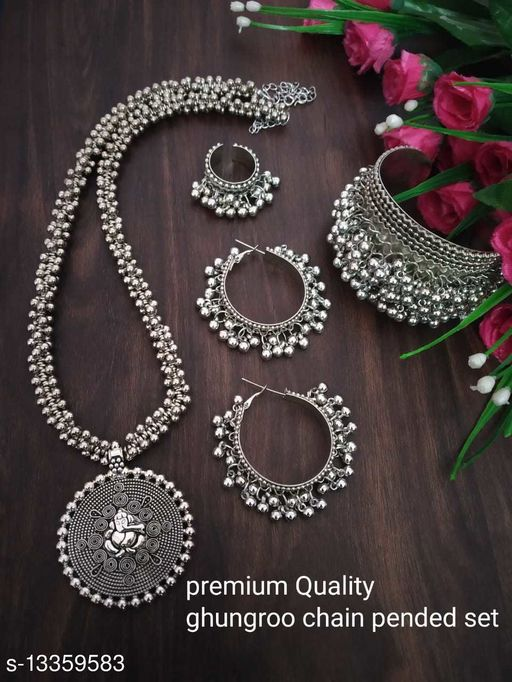 Beautiful Oxidised Necklace for Women and Girls