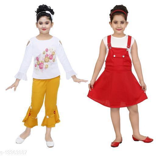 Modern Stylus Girls Frocks & Dresses
