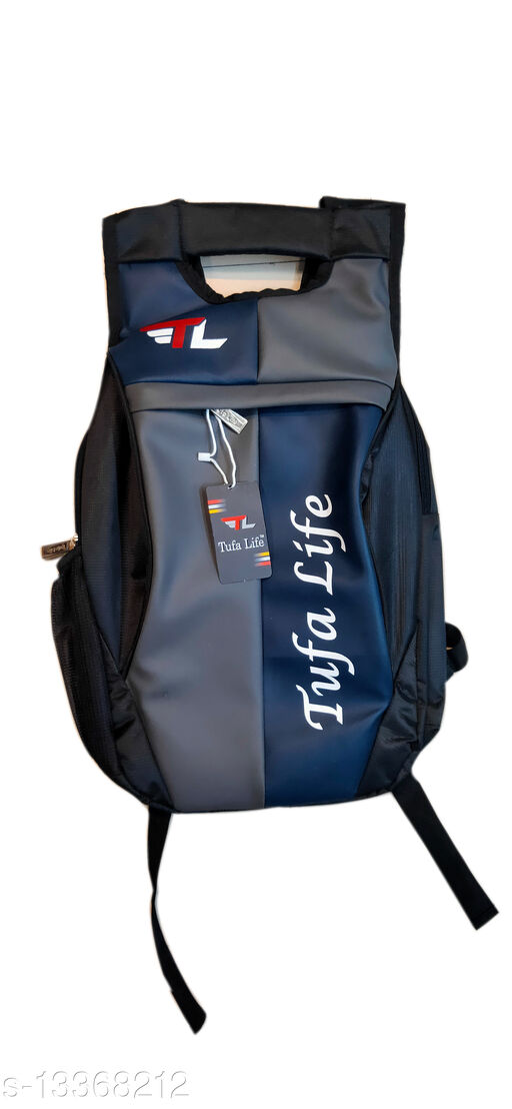 Trendy Men's Multicolor Faux Leather/Leatherette Backpacks