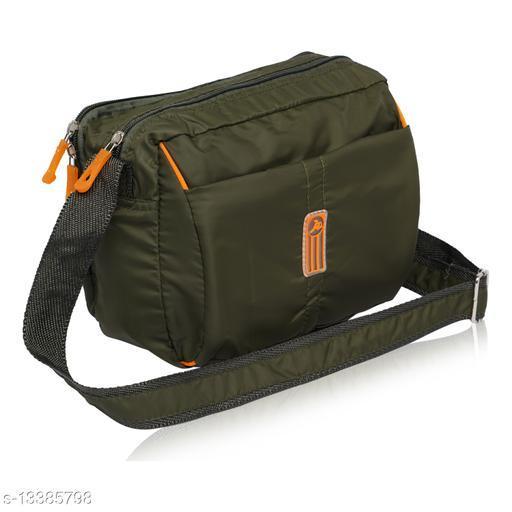 NFI essentials Unisex Polyester Multipurpose Cross Body Sling Bag