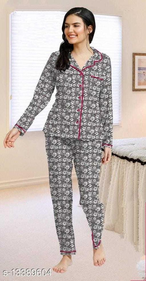 Women Hosiery Nightsuit