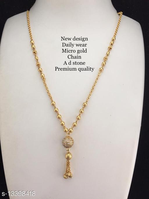micro gold women mangalsutra