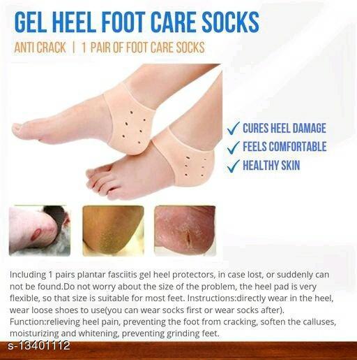 Trendy Silicone Heel Socks