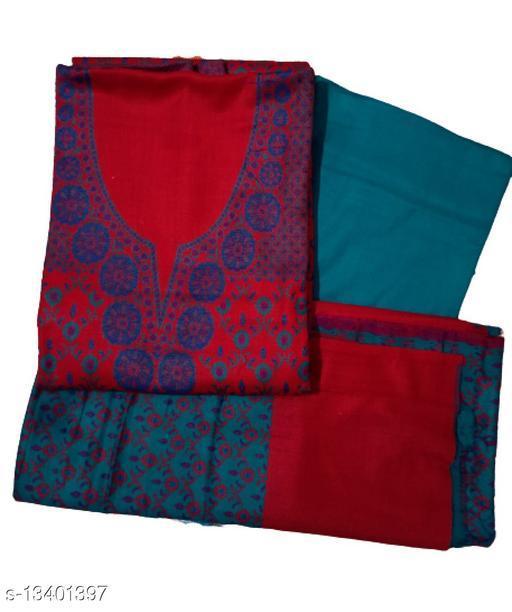 Designer Woolen Premium Dress Material