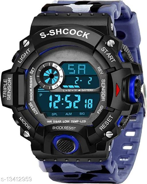 Green Scapper Digital Watches For Men & Boys-2627