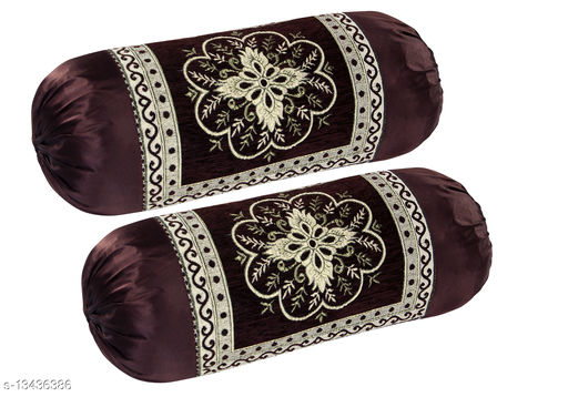 Beautiful Velvet Luxury Bolster Cover (Set of 2 Pieces)