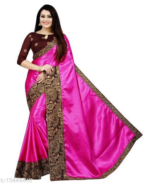 Attractive Satin Sarees