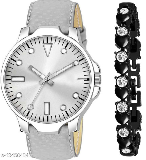 K483 & J21 new Attrective Two Watches combo For Men & Women Bracelet